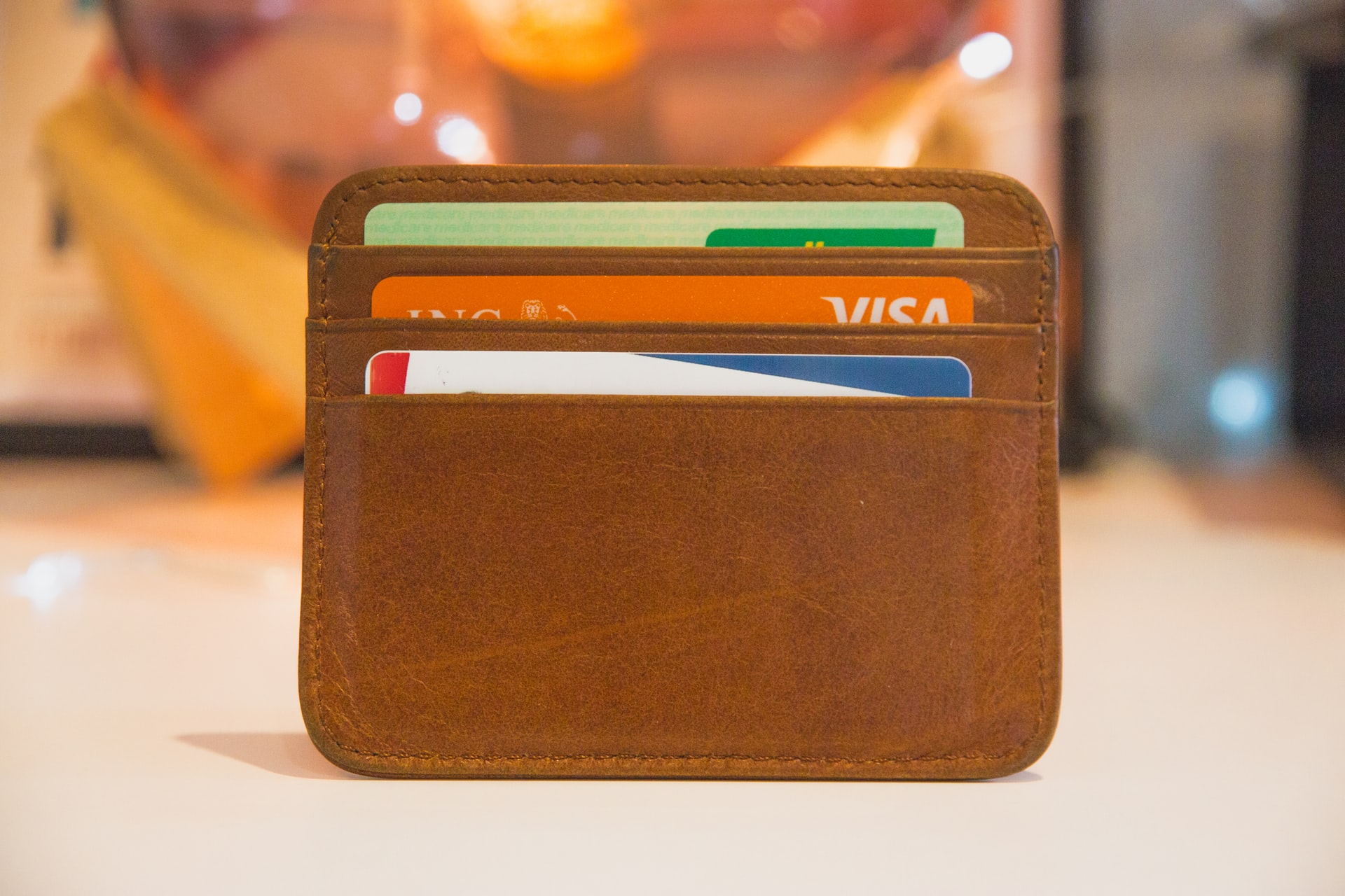 A number of bank cards